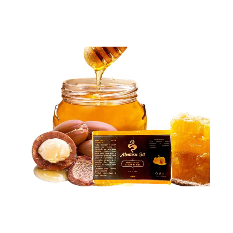 Jabón de Argán y Miel  Medusa Oil Jabón