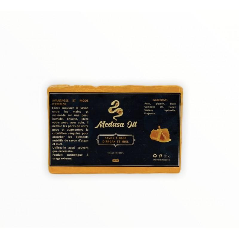 صابون زيت الأرجان ثنائي الأرجان / العسل  Medusa Oil حزم
