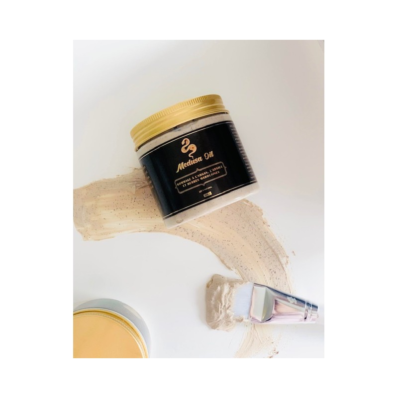 Peeling mit Ton und marokkanischen Kräutern  Medusa Oil Gesichtspflege
