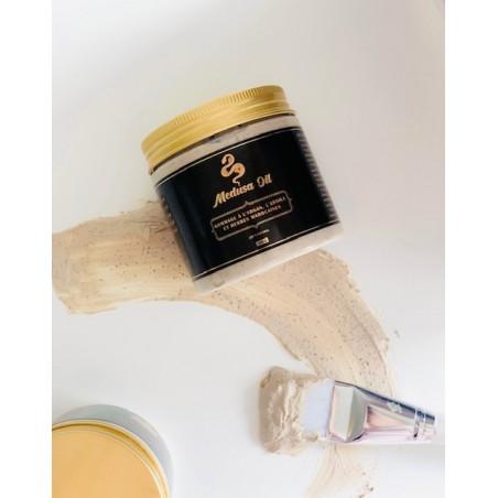 Kil ve Fas otları ile pul pul dökülme  Medusa Oil Yüz bakımı