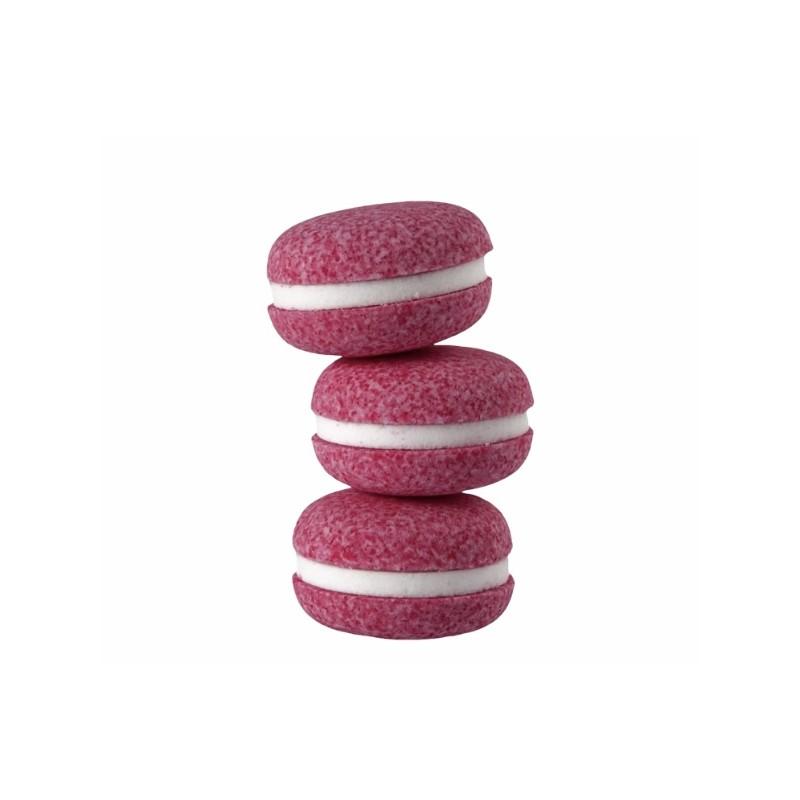 Macarons de bain parfum rose   Bombes de bain