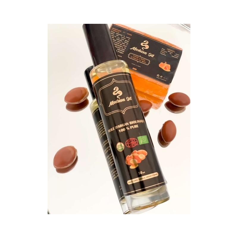 Argan yağı ikilisi Argan / bal sabunu  Medusa Oil Paketler