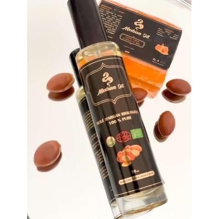 Duo olio di argan Sapone argan / miele  Medusa Oil 23,90€ Confezioni 23,90€