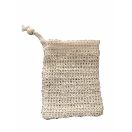 Bolsa de jabón de arpillera   Jabón