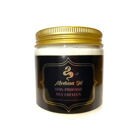 Cuidado profundo del cabello con manteca de karité  Medusa Oil Pelo